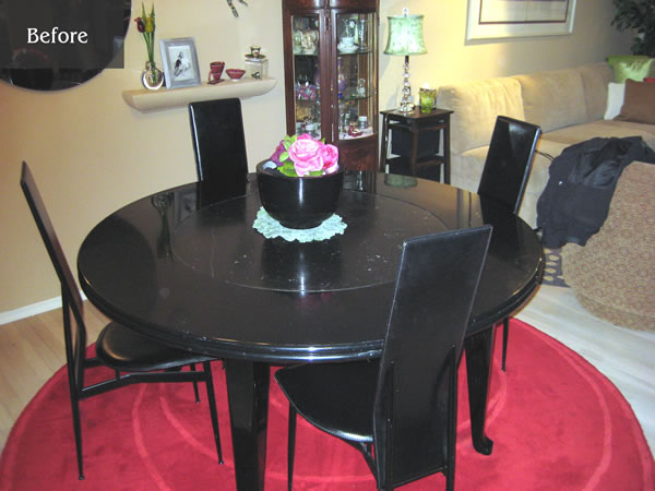 Turn your round table into a larger round