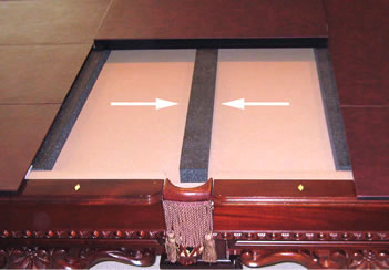 Billiard Pads - Pool table pad