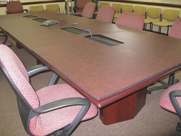 Conference Tables - Table pad material