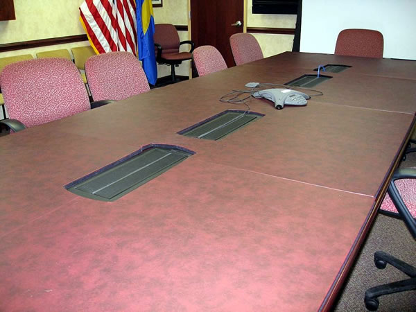 Conference Tables - Conference room table mats
